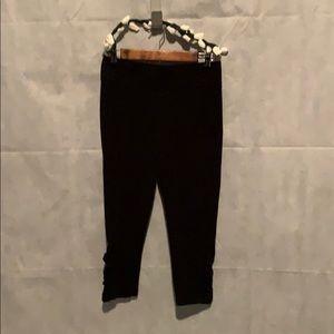 LOGO BY LORI GOLDSTEIN PANTS SOZE XS BLACK